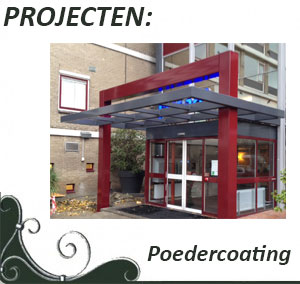 Projecten poedercoating