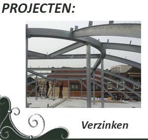 Projecten verzinken